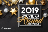 "Nouvel an ""Around the world"" au Sheraton Club des Pins"