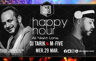 Happy Hour toute la nuite à The Cube Club