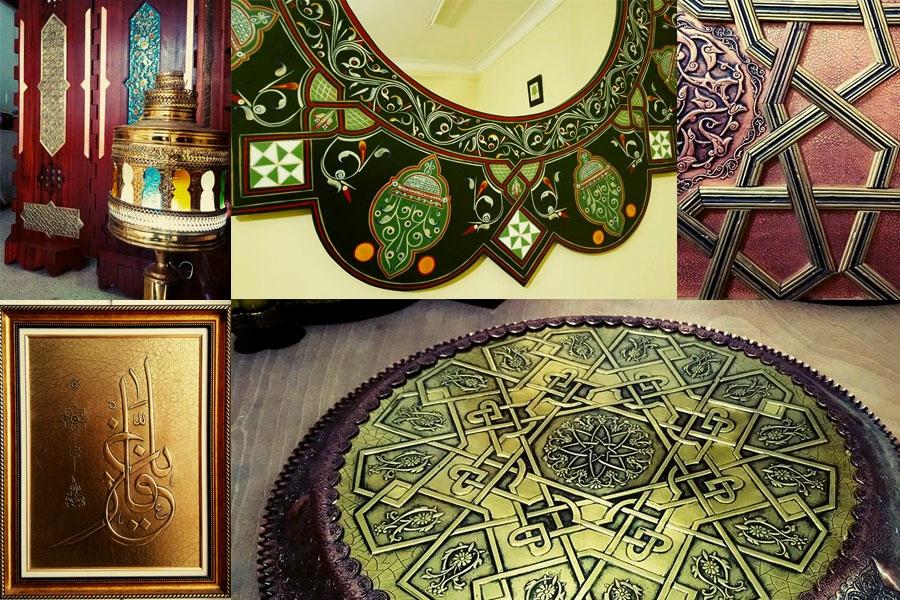 Objets de décoration et Artisanat chez l\'artiste kab fayçal